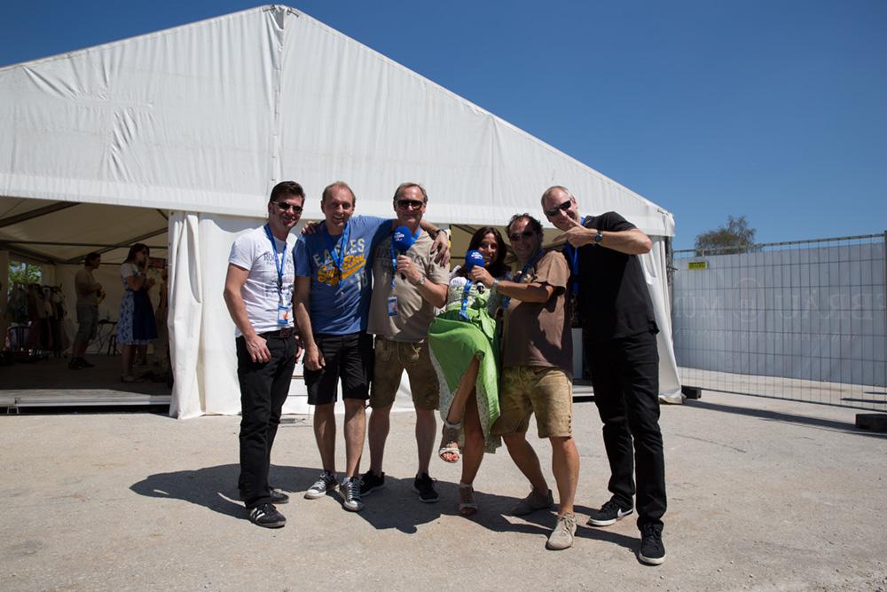 10. Hofbräudult Backstage mit den legendären Cagey Strings und Kollegen Klaus Schweiger
