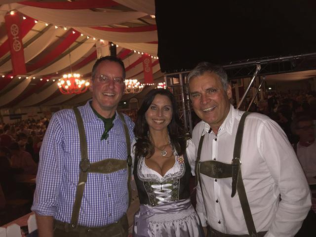 Mainzer Oktoberfest 2016 mit Obgm Michael Ebling und Gf von Radio Rockland Steffen Müller