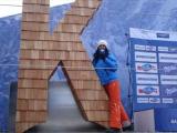 Ski Weltcup 2013 in Garmisch auf der eigens dafür gebauten Bühne