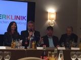 Pressekonferenz des Benefizkonzertes u.a. mit Obgm Dieter Reiter und Spider Murphy Gang