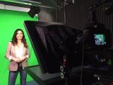 Drehtag für Business TV / Greenbox-Studio