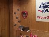 Das Arabella Wiesnstudio im Schützenfestzelt- war mein zu Hause für 17 Tage mit meinem Team