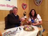 zünftiges Interview mit Bier und Brotzeit – Oberbürgermeister Dieter Reiter