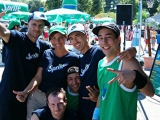 auf Tour durch Deutschland mit Sprite NBA : flying steps - Weltmeister im Hip Hop Dance