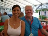 Fussball WM 2006 in Günzburg: Interview mit Ex Fussballprofi Helmut Haller