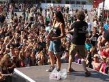Natascha rockt mit ihren Radiokollegen Ortlieb und Felix den Münsterplatz am Schwörmontag