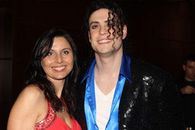 Radio Arabella Silvestergala 2011 mit einem der besten Michael Jackson Double weltweit Robert Alexander Giles