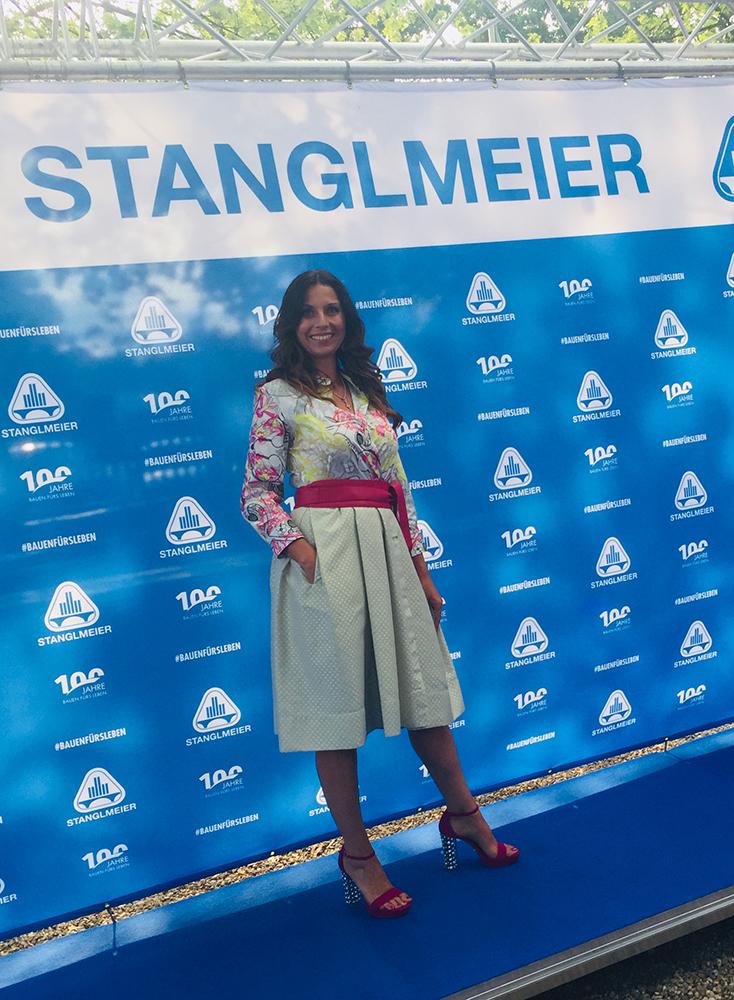 Moderation 100 jähriges Jubiläum des Bauunternehmens Stanglmeier