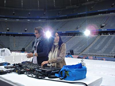 Allianz Arena-Stars, die Winterspiele und Du, Soundcheck mit DJ John Munich