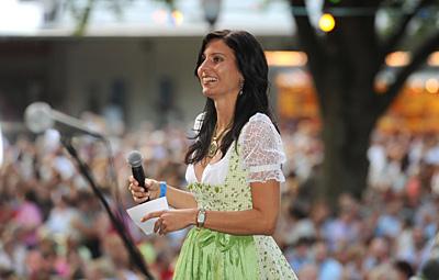 Sommernachtsfest Günzburg mit Hansi Hinterseer - viel Spass auf der Bühne und mit den Fans