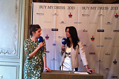 Buy my dress 2013- im Interview mit Top Model Marie Nasemann, die auch das Testimonial ist von Buy my dress 2013