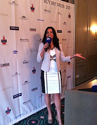 Buy my dress 2013- die große Charity Aktion im bayerischen Hof München - Moderation der Pressekonferenz