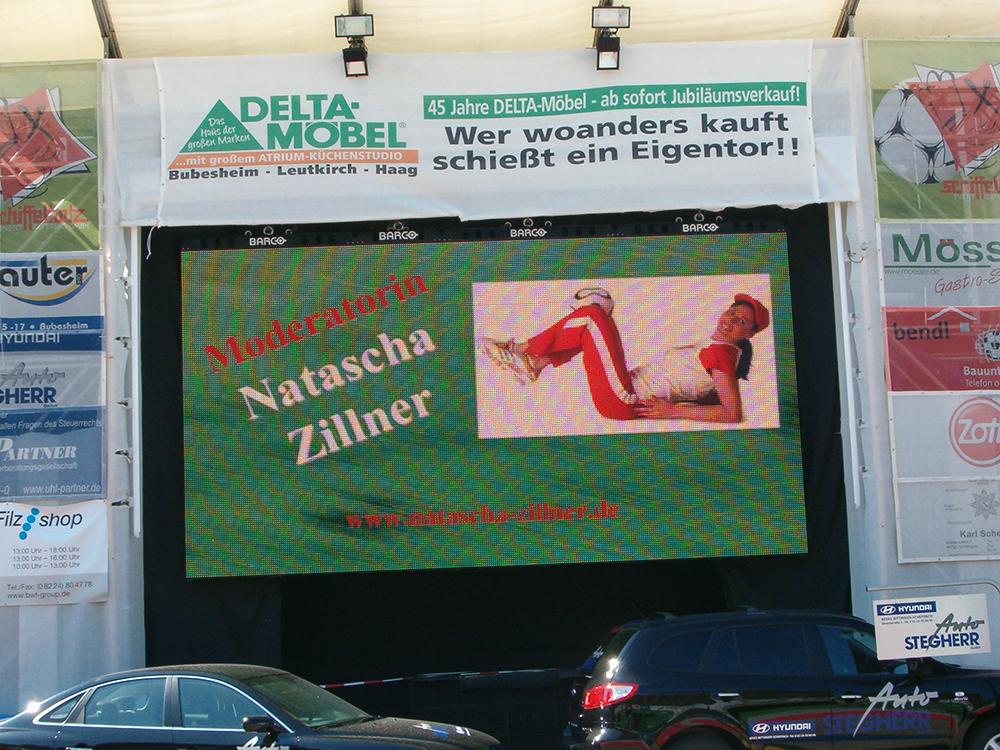 Moderation Munkarena Günzburg / Fussball WM 2006
