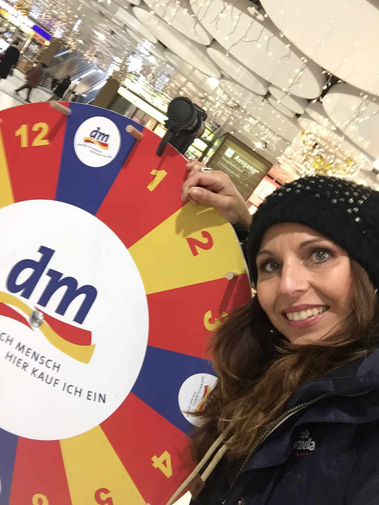 großer dm Event in den Stachus Passagen