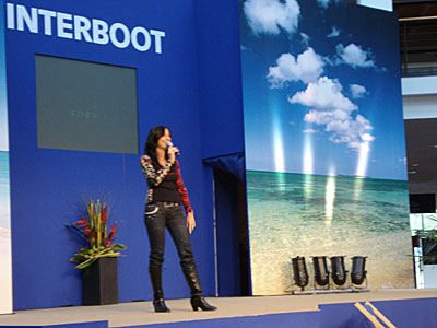Interboot 2008 Friedrichshafen: Moderation der Fashion Show