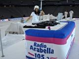 Allianz Arena-Stars, die Winterspiele und Du, Natascha als Djane mittendrin