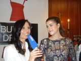 "Charity Aktion ""Buy my dress"" Arabella TV Interview mit Top Model Marie Nasemann"