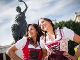 die Bavaria hatte ein wachsames Auge auf uns während der Wiesnzeit