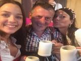 Besuch vom Chef Bino vom Hugo's in Starnberg - kleine Champagnerrunde