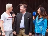 Rewe Family Dein Familien Event – Co Moderation mit Comedian Guido Cantz und mittendrin Sepp Schmidt 2. Bürgermeister von München